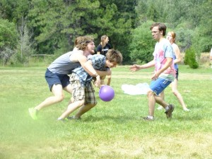 Camp games